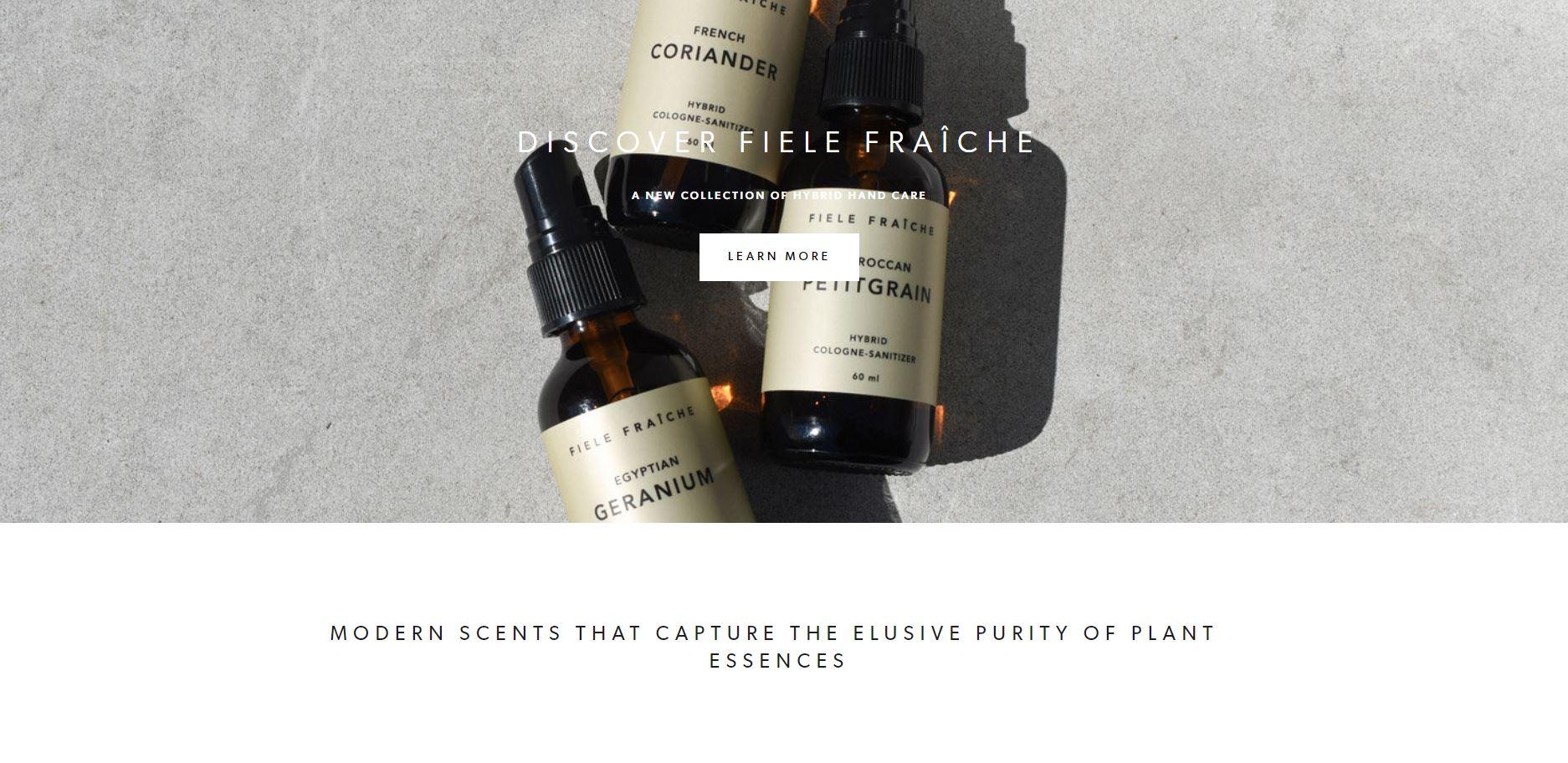 Fiele Fragrance -Squarespace